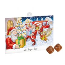 Classic A4 Adventskalender (Fairtrade Chocolade)